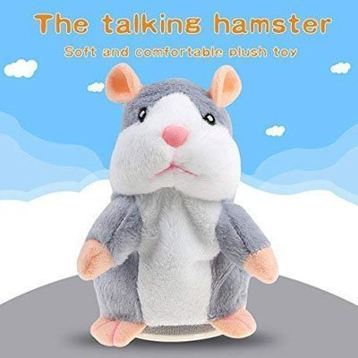 Talking Hamster Plush Toy,