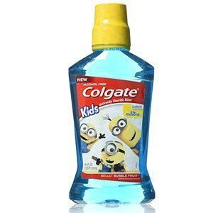 Colgate Kids Minions Bello Bubble Fruit Anticavity Fluoride Rinse