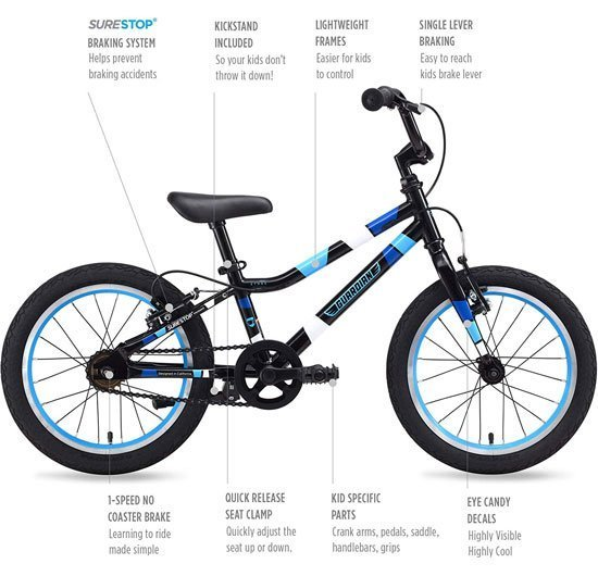 Cool Best 16 Inch Bike For Kids Ive Listed Affordable Bicycles Ncnpc Chair Design For Home Ncnpcorg