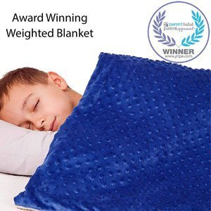Supersoft 5 Lbs Calming Weighted Blanket for Kids