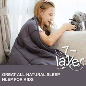 YnM Weighted Blanket 5 lbs for Kids