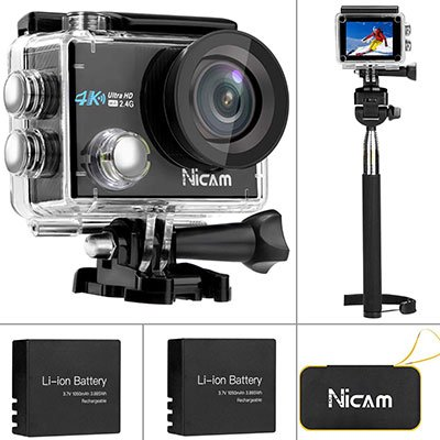 Nicam WiFi Sports Action Camera