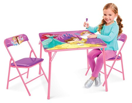 Disney Princess Table & Chairs - Explore Your World Activity Table (2) Chairs