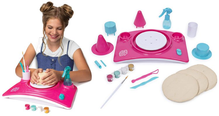 Cool Maker Clay Pottery wheel kits for kids - Pottery Studio
