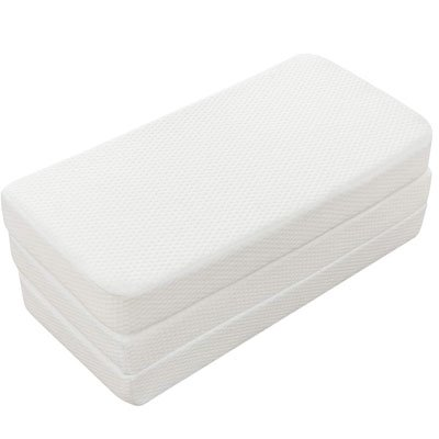 Fitted Foldable Memory Foam Pack n Play Mattress