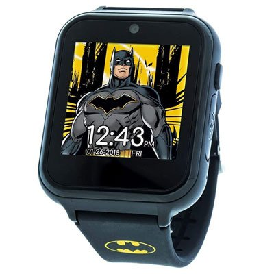 DC Comics Touch-Screen Watch with Silicone Strap