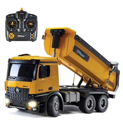 emote Control Construction Dump Truck under $100