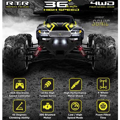 sonic Off Road Monster Truck under 100
