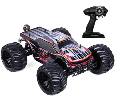 1 10 Scale Remote Control Car Truck 80+ KMH High Speed RTR RC Truck 2.4GHZ Radio Controlled Electric RC Car 4WD 4x4 Off Road Monster Truck for Adults IPX7 Waterproof Racing Vehicle Truck