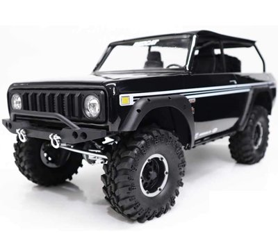 Redcat Racing GEN8 Scout II Axe Edition with Hobbywing Axe Brushless System & More, Black